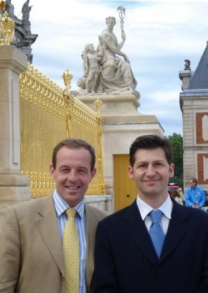 Benoît de Saint Sernin et Frédéric Leclerc, les fondateurs de l'EEIE
