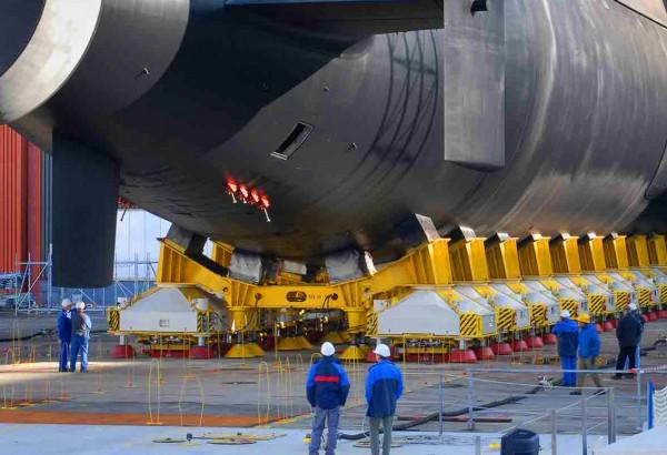 Visite d'un sous-marin nucléaire