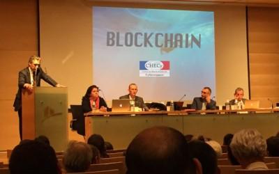 Le CHECY intervient sur la blockchain