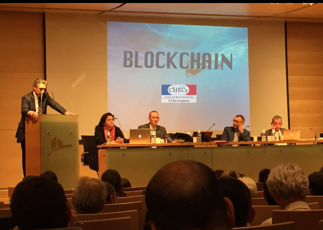 Le CHECY intervient sur la blockchain