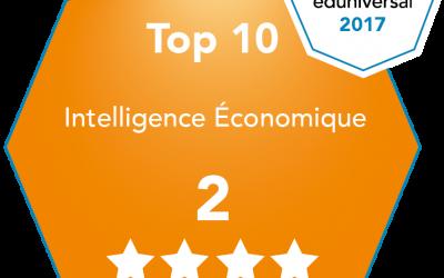 Cette année encore, l'EEIE est dans le top 10 du classement SMBG et ce depuis 2010 !