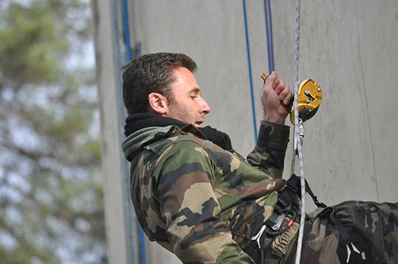 Stage au centre d'entraînement de la Gendarmerie