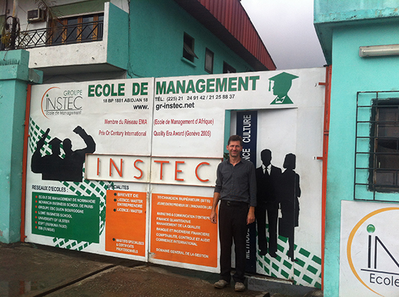 Le Groupe INSTEC, Abidjan