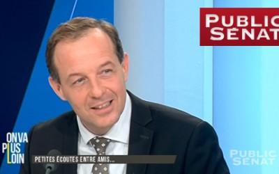 Benoît de Saint Sernin sur Public Sénat #Fabius #écoutes