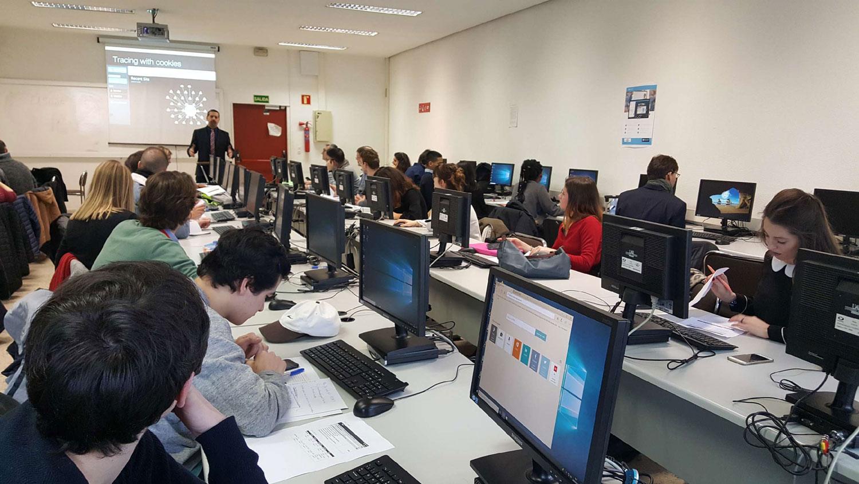 EEIE-séjour-Madrid-étudiants-cybersécurité