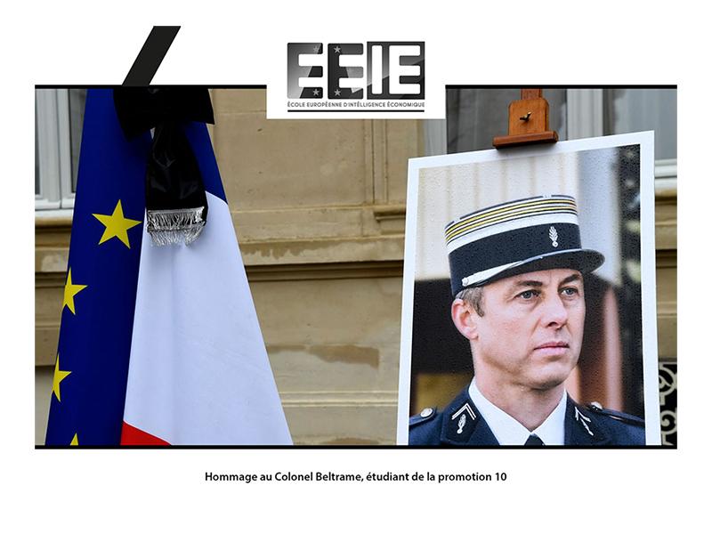 La promo 10 devient la promotion Colonel Beltrame