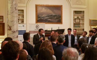 Le directeur des études Philippe Chabrol fête les 10 ans d'Affinis