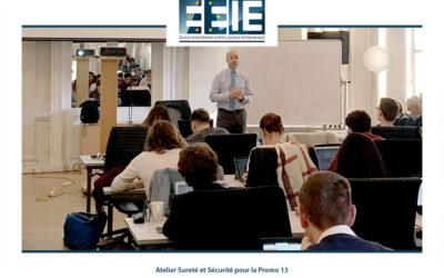 Atelier Sûreté-Sécurité à l'EEIE