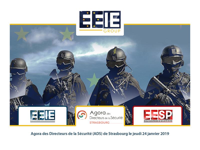 Agora des Directeurs de la Sécurité de Strasbourg (janvier 2019)