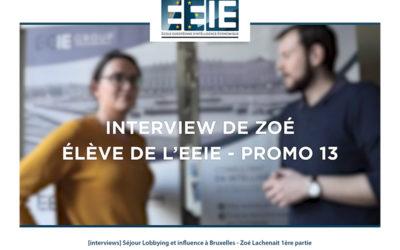Séjour Lobbying et influence à Bruxelles | Zoé Partie 1
