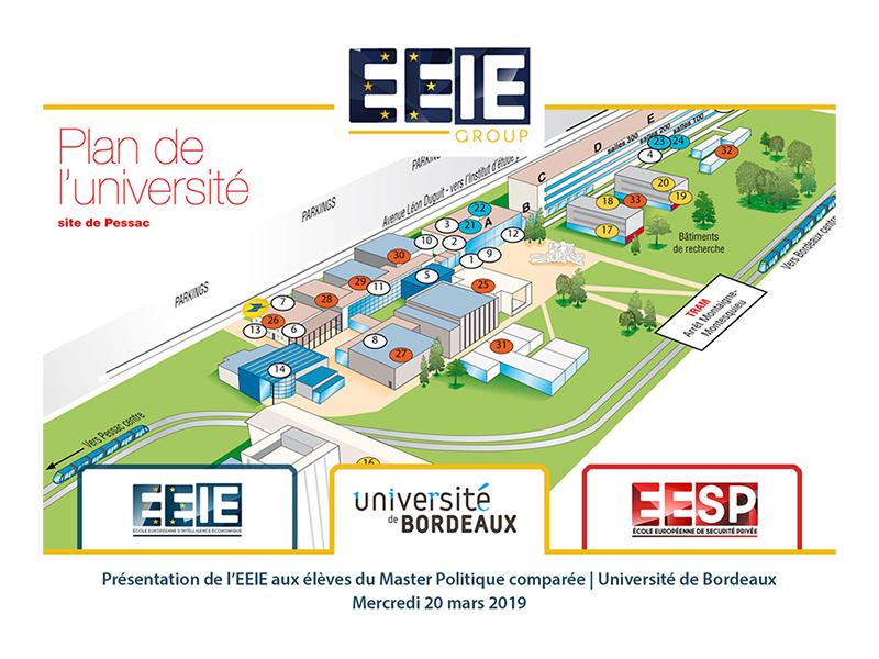 Présentation de l'IE à l'Université de Bordeaux