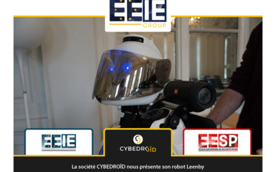 La société CYBEDROÏD nous présente son robot Leenby