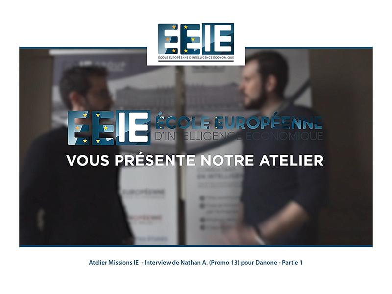 Atelier Missions IE | Nathan pour Danone (Partie 1)
