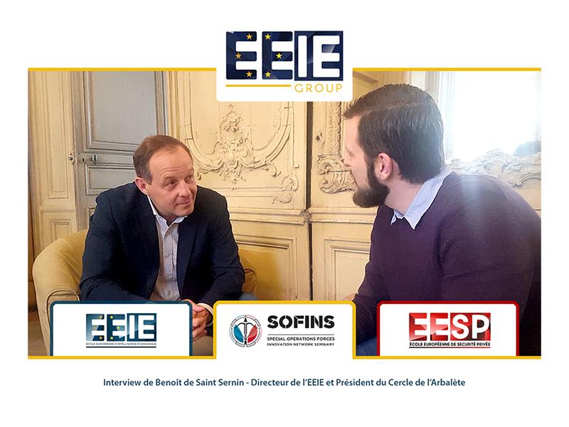 SOFINS 2019 : Interview de Benoît de Saint Sernin