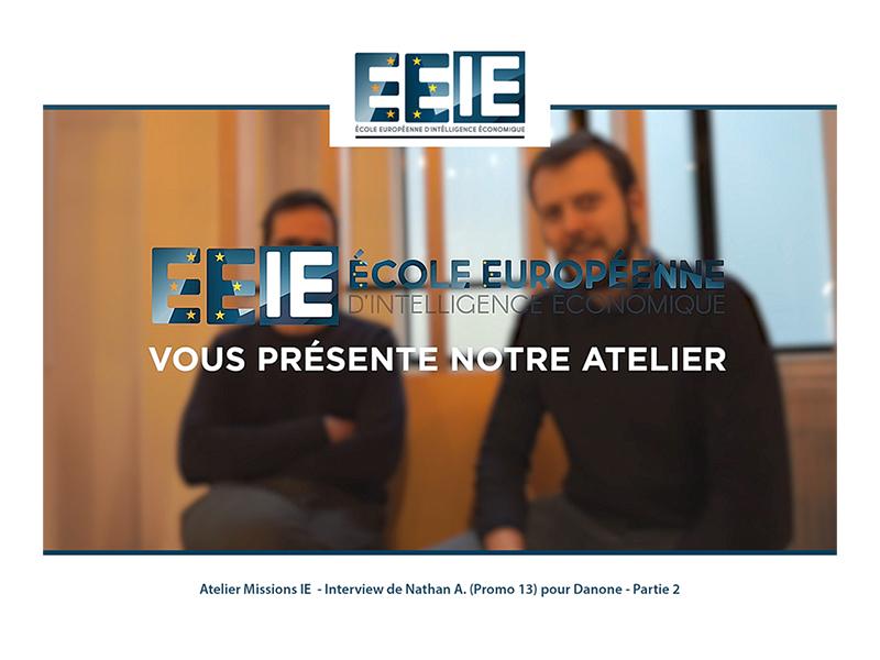Atelier Missions IE | Nathan pour Danone (Partie 2)