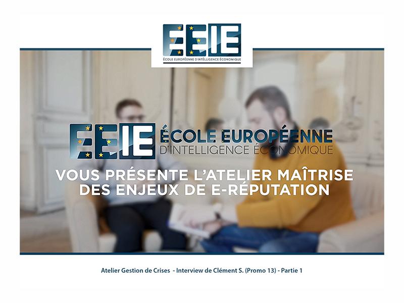 Atelier Gestion de Crise | Clément (Partie 1)
