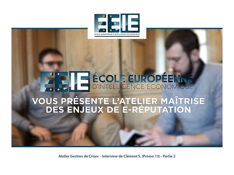 Atelier Gestion de Crise | Clément (Partie 2)