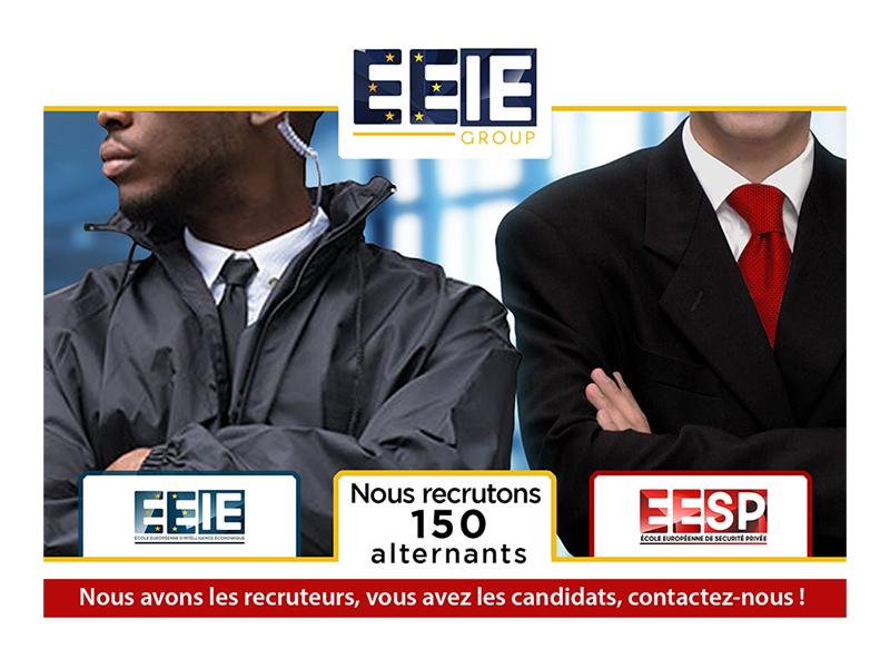 Recrutement de 150 alternants pour l'EESP