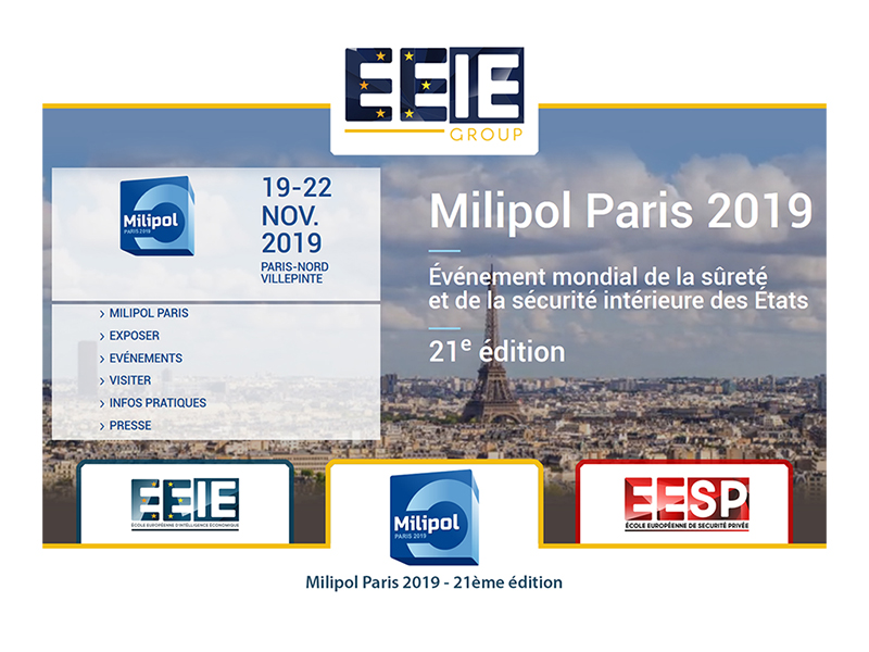 21ème édition du salon Milipol Paris
