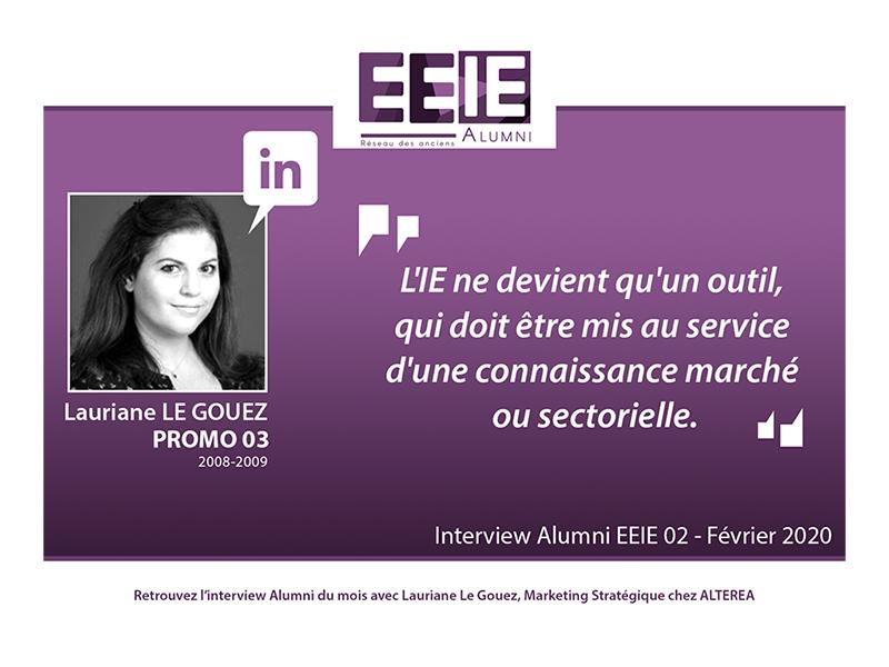 Interview Lauriane LE GOUEZ