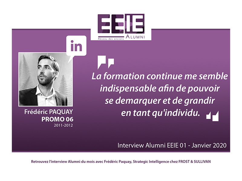 Interview Frédéric PAQUAY