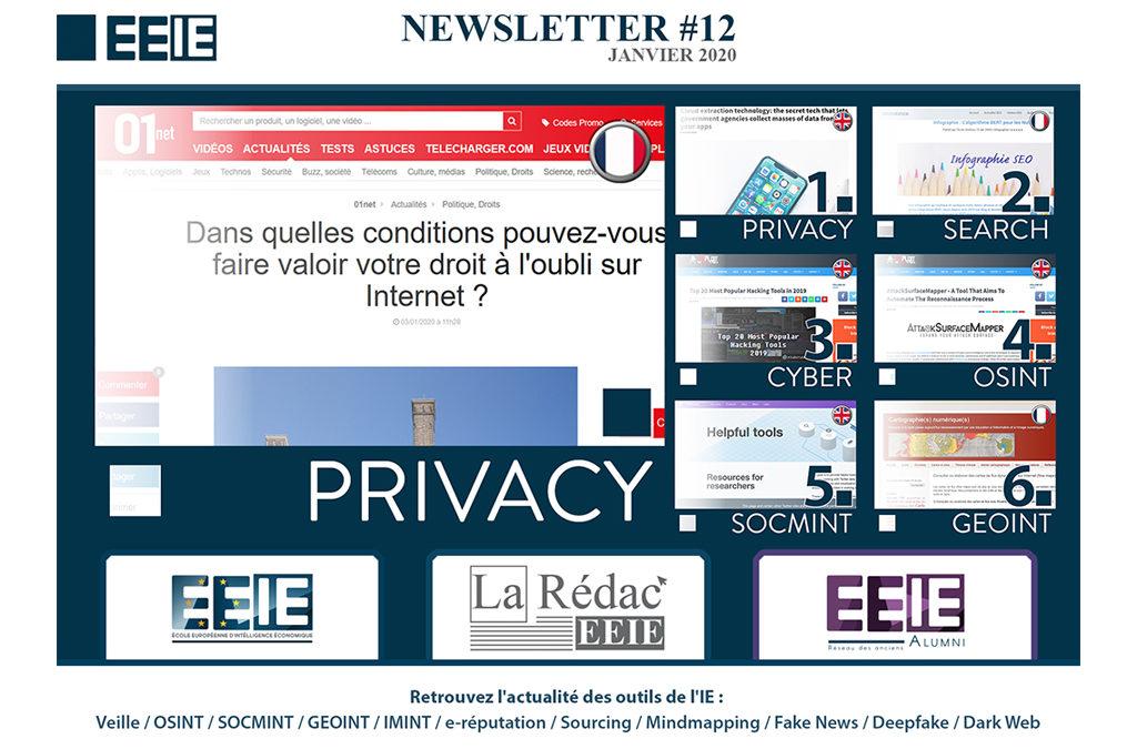 Newsletter EEIE 12