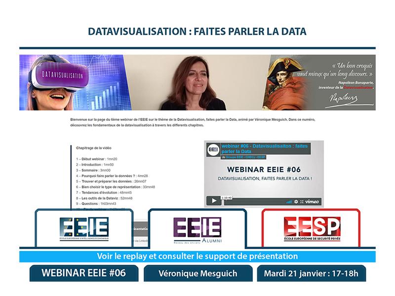 Webinar EEIE #06 : Datavisualisation, faites parler la Data