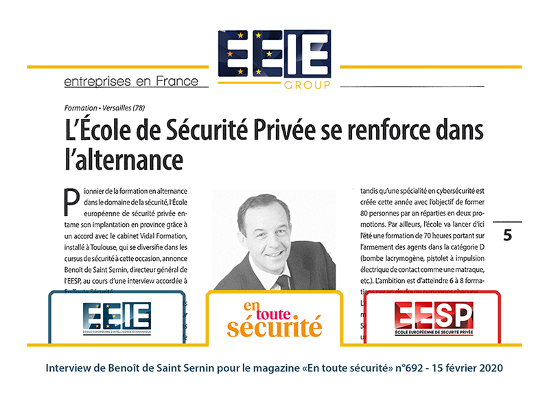 Itw : En toute sécurité