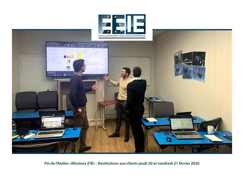 Atelier Mission I.E – Promo 14