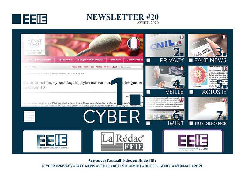 Newsletter 20 : Cyber