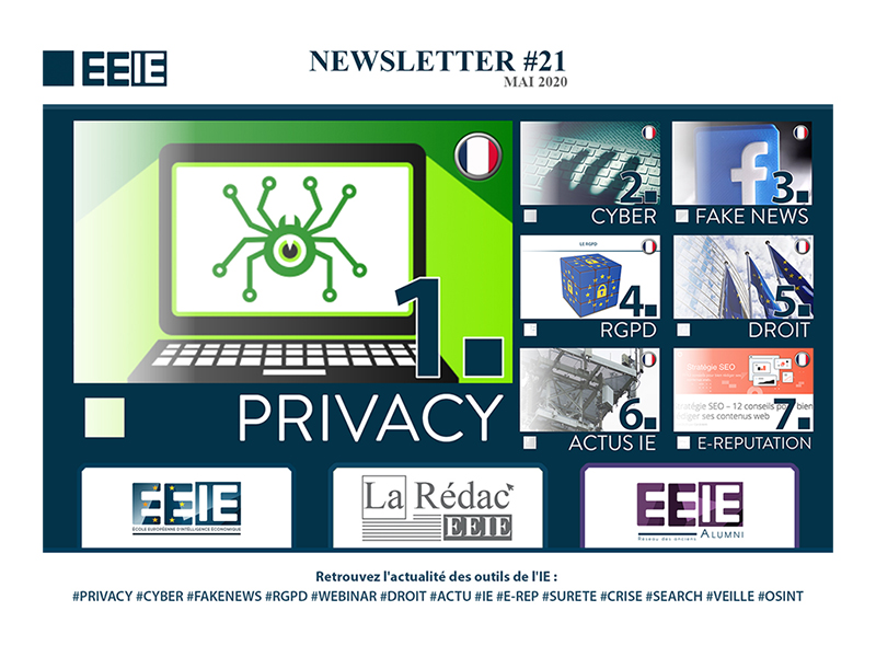 Newsletter 21 : Privacy