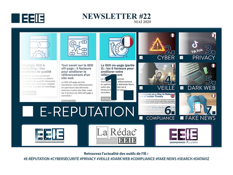 Newsletter 22 : E-réputation