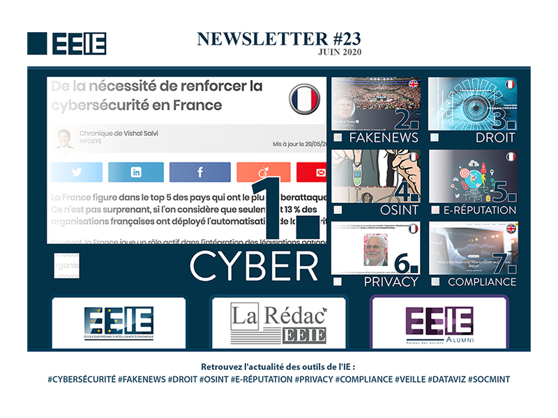 Newsletter 23 : Cyber