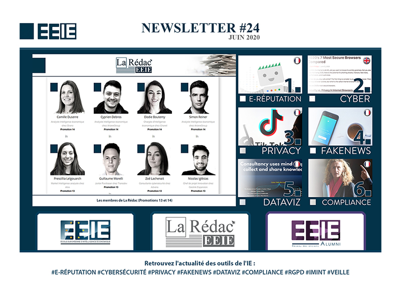 Newsletter 24 : E-réputation