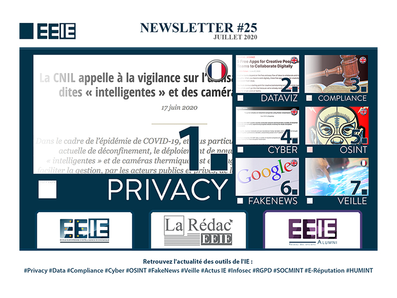 Newsletter 25 : Privacy