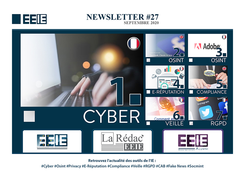 Newsletter 27 : CYBER
