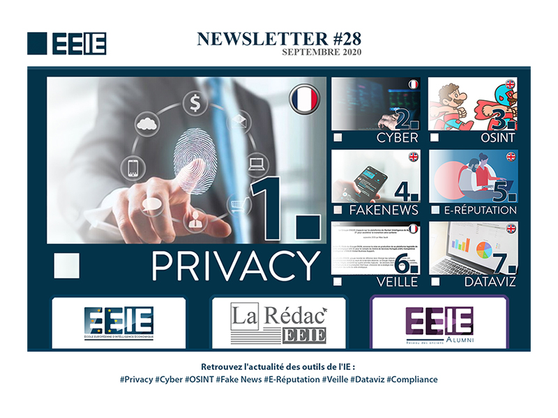 Newsletter 28 : Privacy