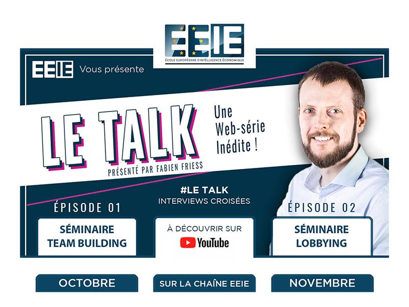 Nouvelle émission : Le Talk