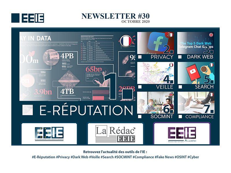 Newsletter 30 : E-réputation