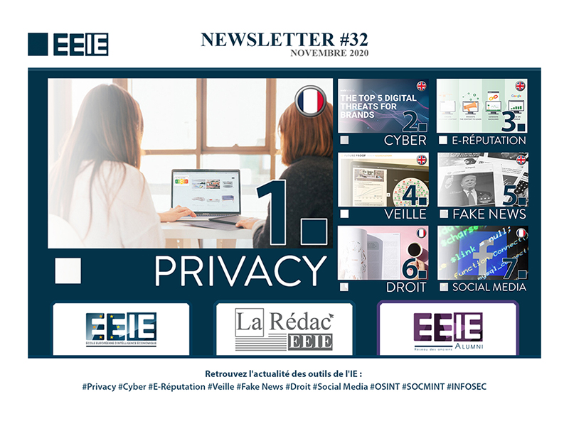 Newsletter 32 : PRIVACY