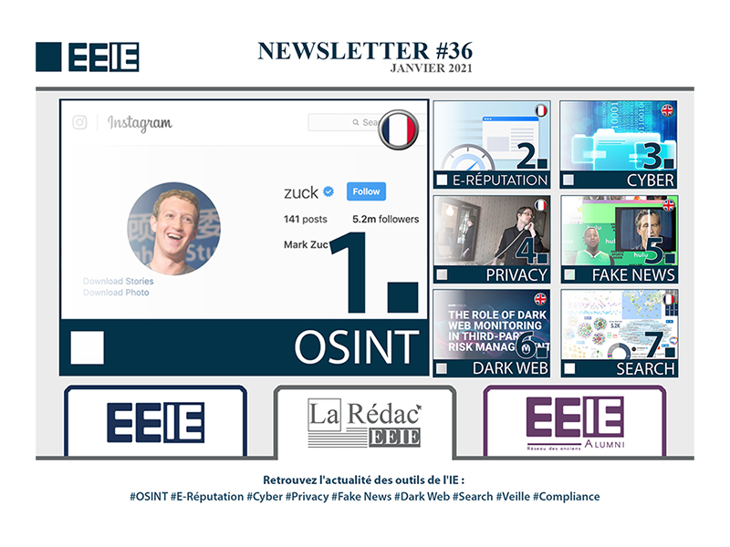 Newsletter 36 : OSINT