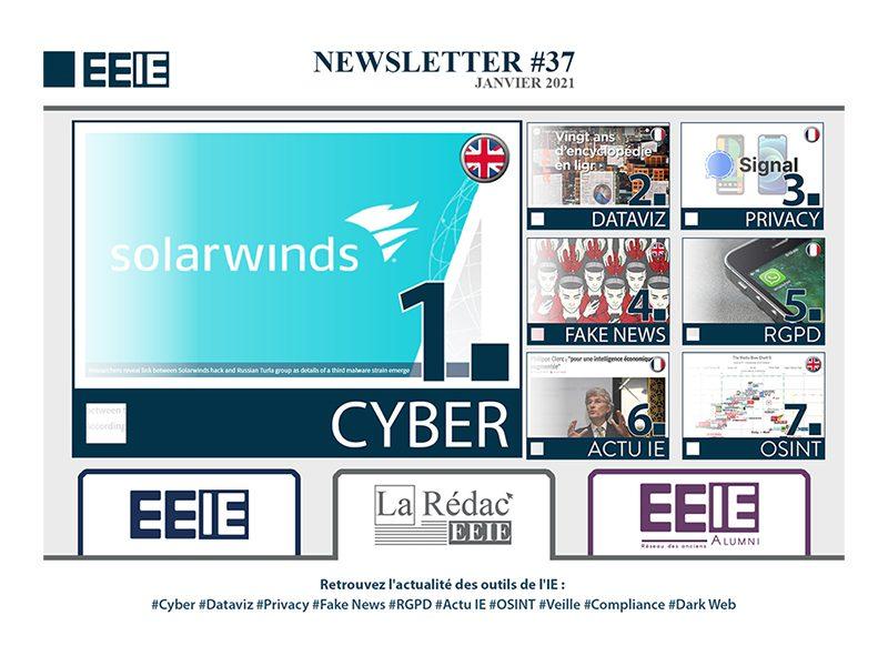 Newsletter 37 : CYBER