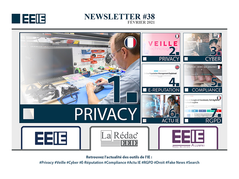 Newsletter 38 : PRIVACY