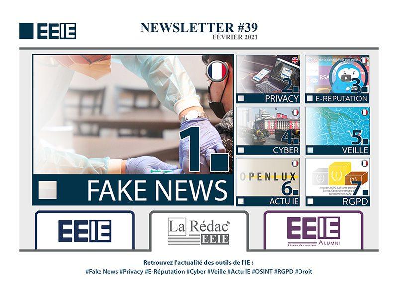 Newsletter 39 : FAKE NEWS