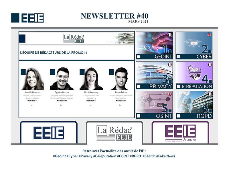Newsletter 40 : GEOINT