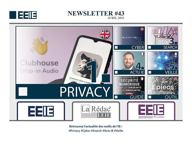 Newsletter 43 : PRIVACY
