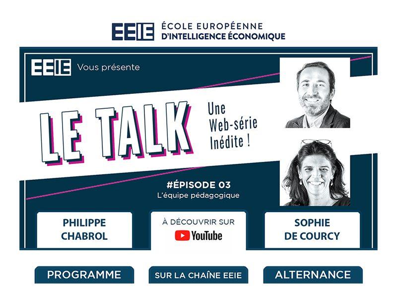 Le Talk EP03 : L'équipe pédagogique