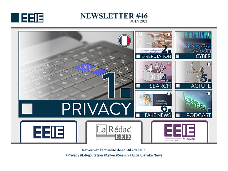 Newsletter 46 : PRIVACY