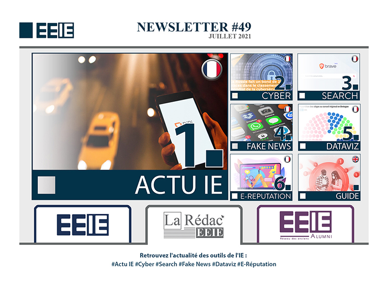 Newsletter 49 : ACTU IE