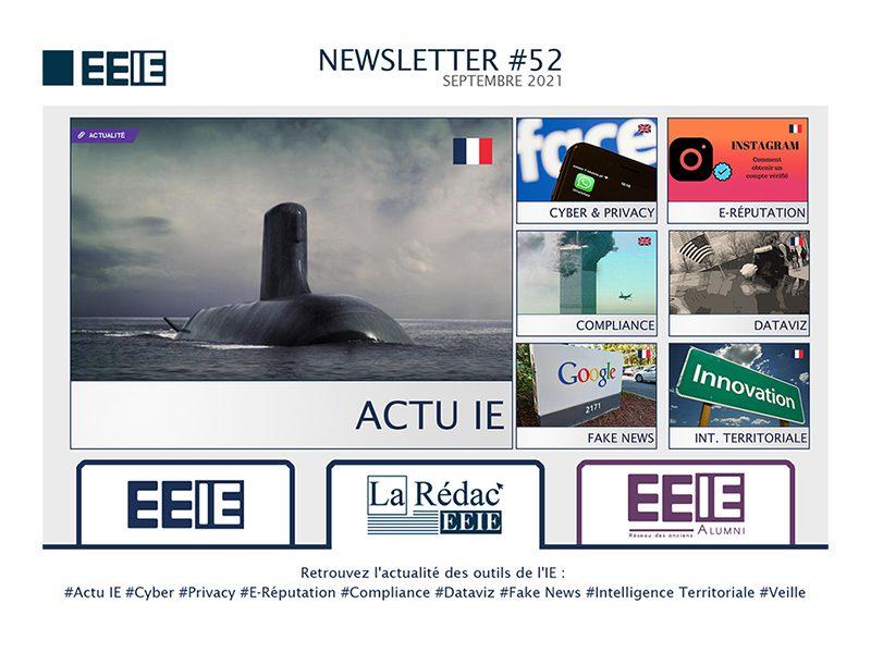 Newsletter 52 : Actu IE